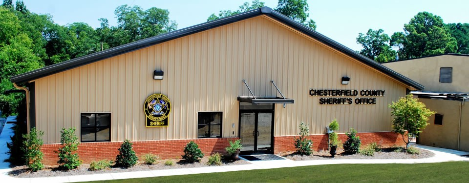 Chesterfield County SC Sheriff's Office Administrative Building